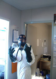 Safety Gear for chemical administration