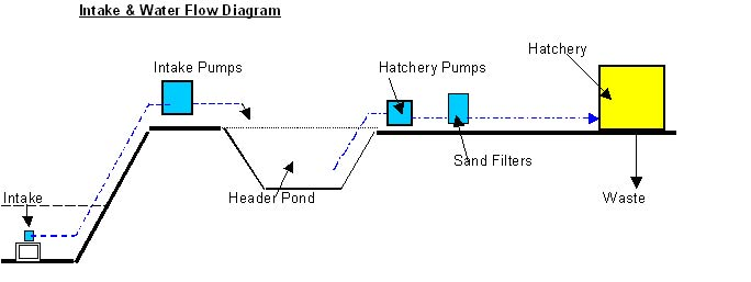 water flow diagram